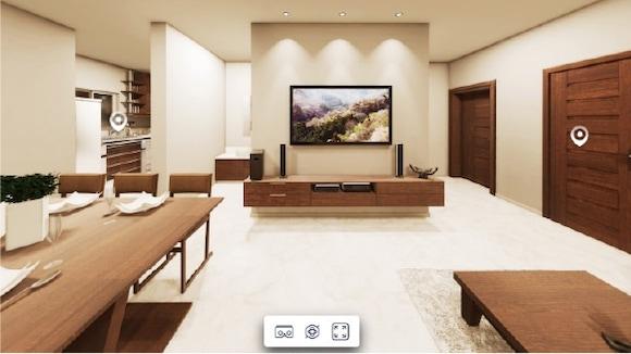 VR3DCG空間画像タイプ