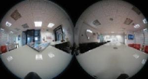 360度撮影風景